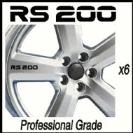 FORD RS200 CAR WHEEL DECALS